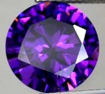 30.21CT AAA Natural Purple Amethyst Gems Round Faceted Cut 17MM VVS Loose Gems