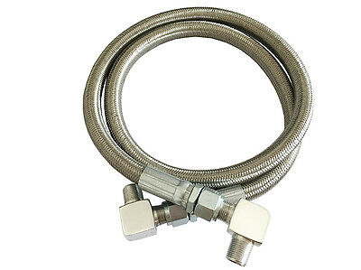 Stainless steel Braided Transmission Cooling Lines With a Fitting