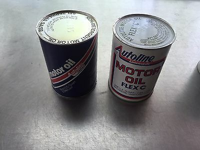 Vintage Antique Autoline Lubricants Motor Oil  Baltimore Maryland  Sign Gas