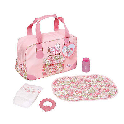 Baby Annabell Changing Bag, Toy Baby Doll Accessories