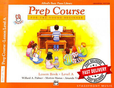 Alfred's Basic Piano Library - Prep Course For The Young Beginner Lesson Level A