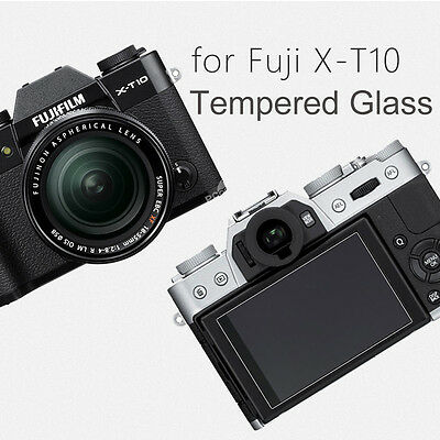 2-Pack Tempered Glass LCD Screen Protector for Fujifilm X-T20 X-T10 X-A2 X30 XA2