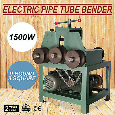 Electric Pipe Tube Bender 5/8- 3 Decoration 1500W 9 Round 1500W