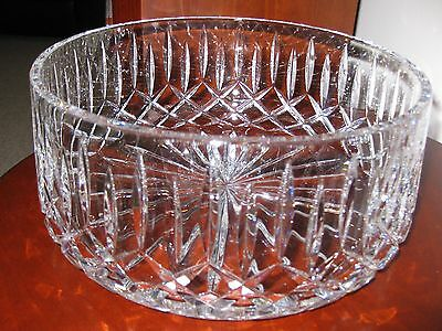 Large Crystal Bowl