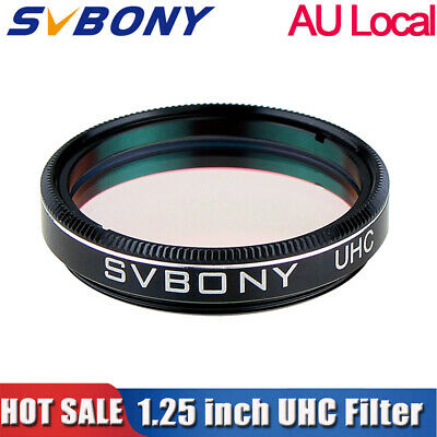 "Hot 1.25"" UHC Telescope Eyepiece Filter High Contrast for Sky Light Pollution AU"