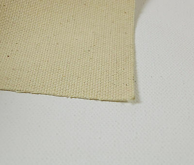 Picasso 10 Oz Ultra Smooth Natural Cotton Canvas 5 Mtr Roll-Width Available