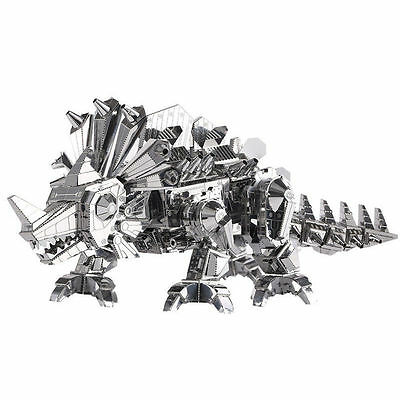 Piececool 3D Metal Puzzle Dinosaur Rock Monster DIY Assembly Model Funny Gifts