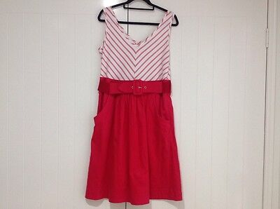 Gorgeous City Chic Red Dress - Size XS