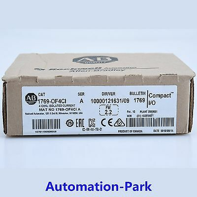 New Sealed Box 1769-OF4CI Allen Bradley 4 Ch Isolated Current Output Module