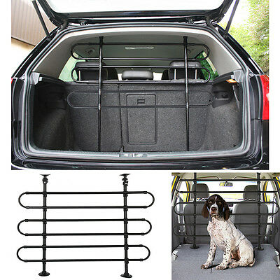 Large Deluxe Universal Heavy Duty Car Hatchback Van Pet Dog Guard Safety Barrier
