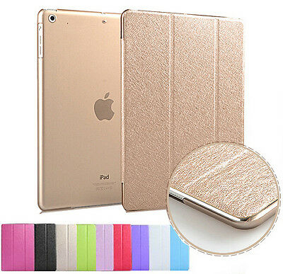 UK Smart Stand Magnetic Leather Case Back Cover for Apple iPad Mini 4