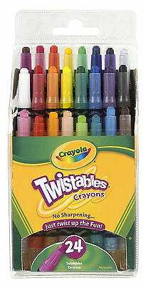 Crayola Mini Twistables Crayons-Pack of 24