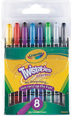 Crayola Mini Twistables Crayons-Pack of 8