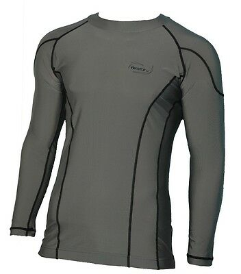 Herren Lycra Surf-Shirt Rash Guard Thermoshirt UV-Shirt UV-Schutz langarm