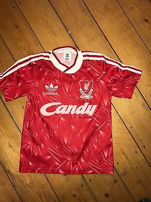 Very rare FC Liverpool Vintage adidas Jersey for Kids Candy size 26 28 Trikot