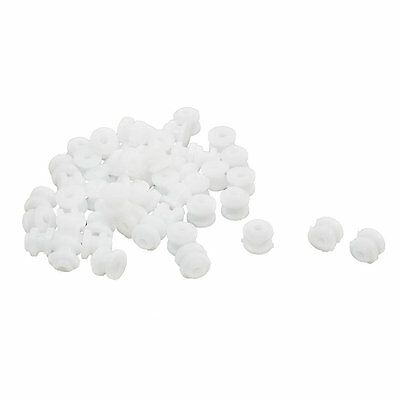 50Pcs Plastic Spindle Pulley 6mmx5mm for 2mm RC Toy Motor Drive Shaft