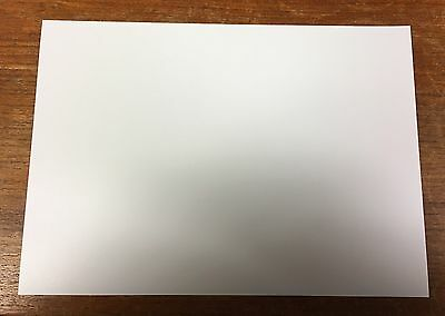 A4 WHITE Polypropylene Plastic Sheet 0.8mm Model Making, Art, Craft