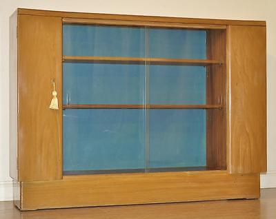 Attractive Simple Walnut Sliding Glass Door Bookcase Shelves with Side Cupboards