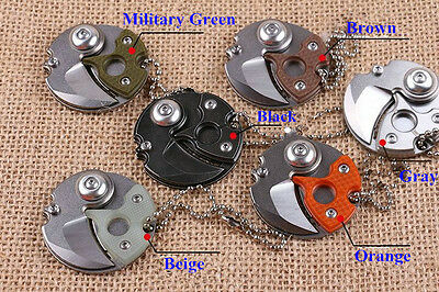 Gift Coin Knife Mini Special Cute Pocket Keychain Karambit claw Outdoor Survival