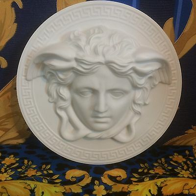 VERSACE ROSENTHAL PORCELAIN PLAQUE  the ONLY genuine plaque for sale B&C