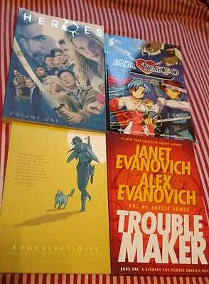 Collection of Graphic Novels lot 2 (Heroes, Apocalyptigirl, Etc.)