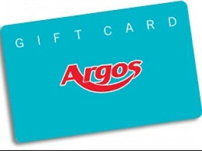 £50 Argos eVoucher - Collection code voucher - for instore only - Same day email