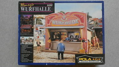 POLA G Scale Henry's Wurfhalle Building Kit #G997