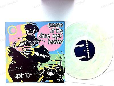 Queens Of The Stone Age Beaver 10inch Maxi 1998 Coloured Vinyl Frank Kozik //1