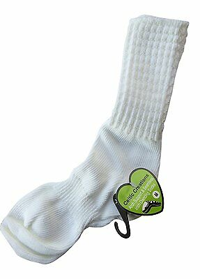 IRISH DANCE SOCKS ANKLE Length Arch Support Seamless Poodle Socks 6-8½ X Small