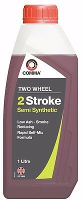 Comma Motor Oil Two Wheel 2 Stroke 1L TSTSS1L