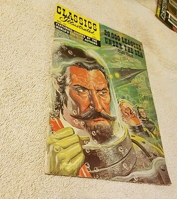 Classics Illustrated #47 1968-Gilberton-20,000 Leagues Under The Sea-HRN