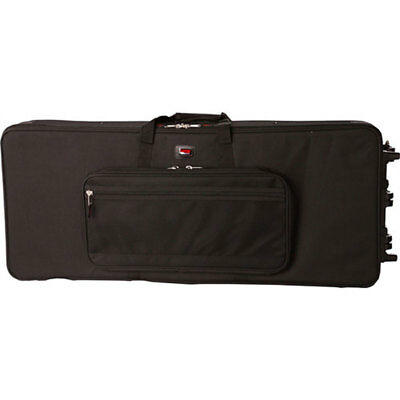 Gator Cases GK-61 Lightweight Keyboard Case with Wheels for 61-Key Keyboard