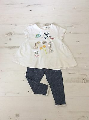 Next Baby Girls Top And Leggings Outfit 18-24 Months