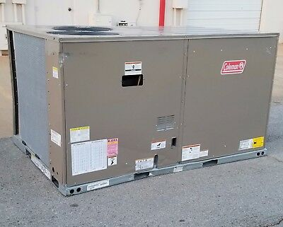 Coleman York 10 Ton Packaged Air Conditioner W/ Gas Heat 208/230V 3 Ph - New 373