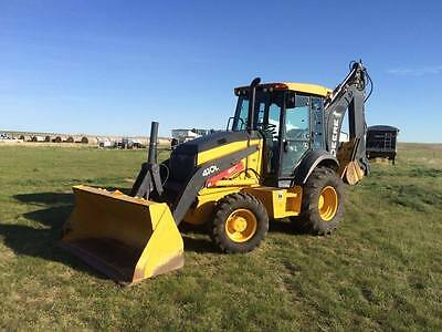 2015 410L John Deere backhoe loader LOW HOURS