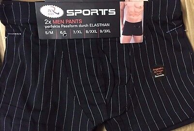 2 Pairs Pack High Quality Mens  Boxer Shorts Trunks Gift Underwear Cotton Boxers