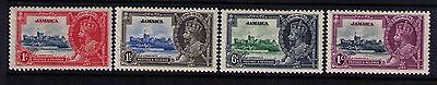 JAMAICA 1935 KGV Silver Jubilee Issue Sc#109-12 SG114-17 MH Cpl.Set