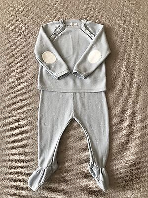 Baby Boys Mamas and Papas Two Piece Set - 3-6 Months