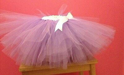 Lilac Tulle Tutu. 6-18 Months. Cake Smash Outfit