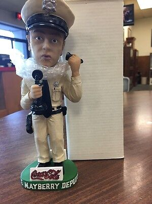 "The Mayberry Deputy Bobblehead Phoning Wanita"" -  Signed Act2"
