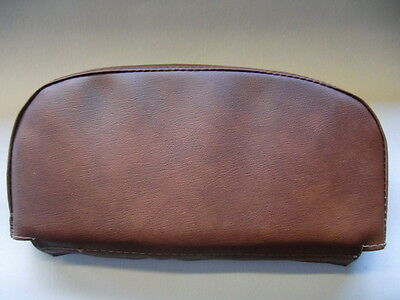 Plain Brown Scooter Back Rest Cover (Purse Style)