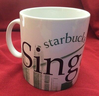Starbucks Singapore mug, City Mug Collector Series, 2007, 20 oz, New/Unused