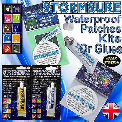 Stormsure Waterproof Flexible Outdoor Repair Kit Adhesive Glue Fix Rips Holes