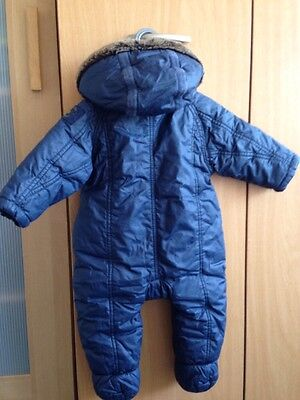 Baby Boy Ted Baker snowsuit With Mittens 3-6 month