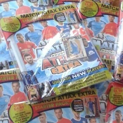 Match Attax Extra 16/17 Sealed Binder And 100 Mix Cards