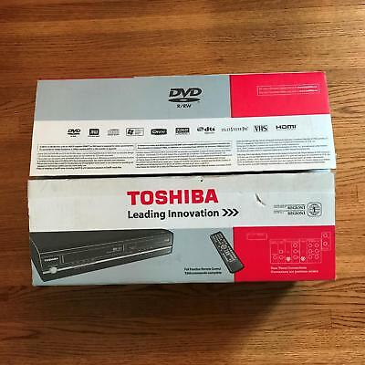 Toshiba Hi-Fi VCR & DVD Recorder with 1080p Up-conversion - D-VR7