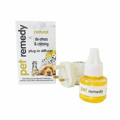 Pet Remedy Natural De-Stress and Calming Diffuser Plug In