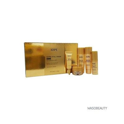 IOPE Super Vital Cream Rich VIP Special Gift Set 5 Items + Free gifts!