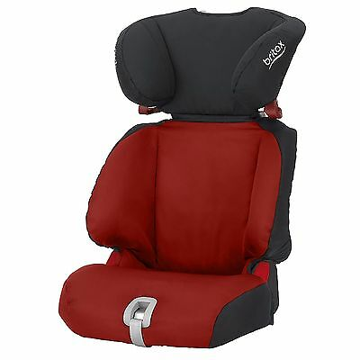 Britax Discovery SL Group 2/3 15-36kg Child/Childrens Car Seat In Chili Pepper