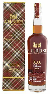 A.H. Riise XO Reserve Rum - Limited Christmas Edition 0,7L | Rum